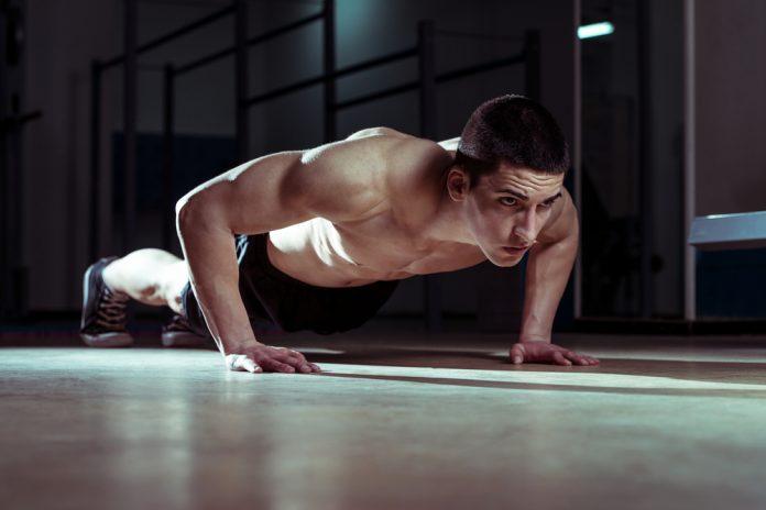Treino com o peso do corpo