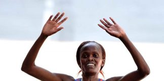 Brigid Kosgei venceu a São Silvestre