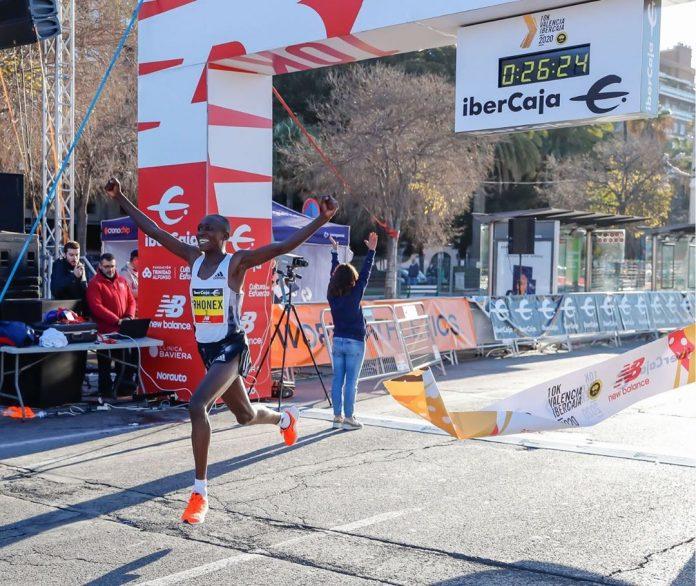 Recorde mundial nos 10K masculino