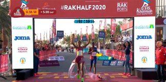 Ababel Brihane quebra recorde mundial na meia maratona feminina