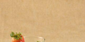 Suco detox com vinagre de maçã